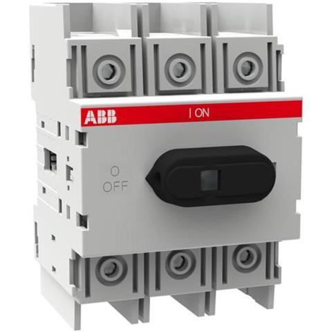 Выключатель нагрузки-рубильник до 125 A, 3-полюсный OT125M3. ABB. 1SCA022429R9140