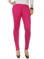 706-23 джинсы женские, розовые