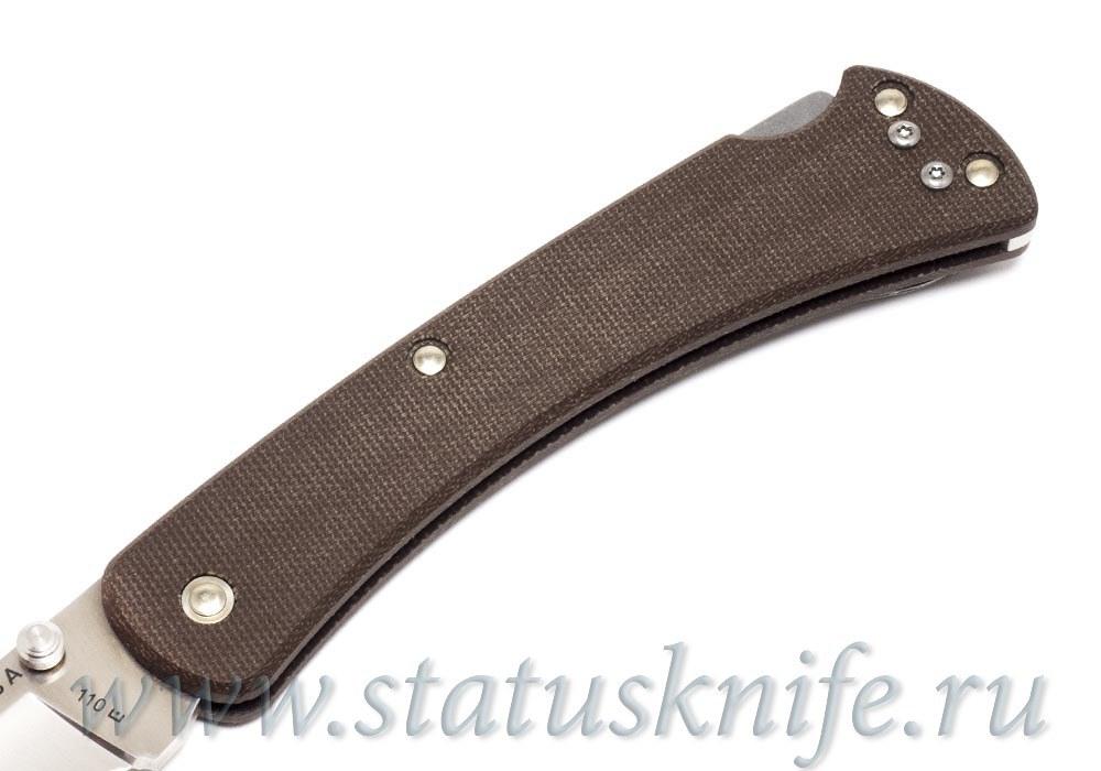 Нож BUCK 0110BRS4 110 Folding Hunter Slim Pro - фотография