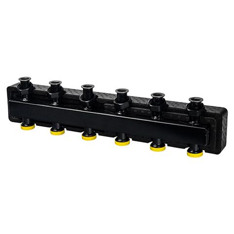Коллектор котельной разводки STOUT - Ду25 на 3(5) контура (в теплоизоляции)