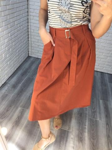 длинная юбка с ремнем nadya