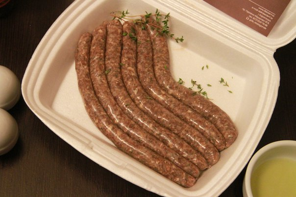 Колбаски из конины