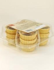 Закусочные тарталетки из семян тыквы (Пресные), 110 г