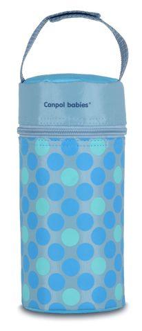 Canpol babies. Термосумка для детских бутылочек Canpol Retro, голубая