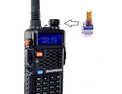 Регулятор громкости для радиостанции Baofeng UV-5R
