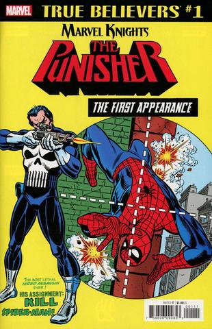 True Believers: The Punisher. The First Appearance