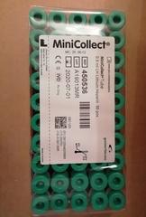 450536 Пробирки MiniCollect с Li (литий) гепарином, для плазмы, 16х43мм, 0,5 мл, 50 шт/уп, Greiner Bio-One GmbH / Грейнер Био-Уан ГмбХ, Австрия
