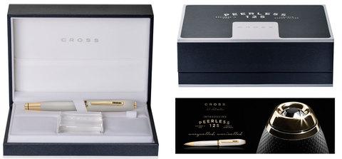 Cross Peerless 125 - Platinum GT, перьевая ручка, F, BL123