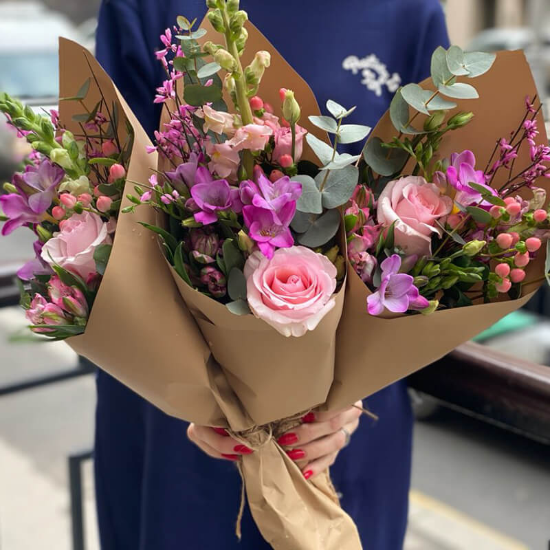Букет цветов 345