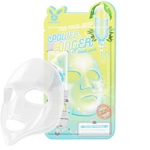 Тканевая маска для лица с экстрактом чайного дерева Elizavecca Deep Power Ringer Mask