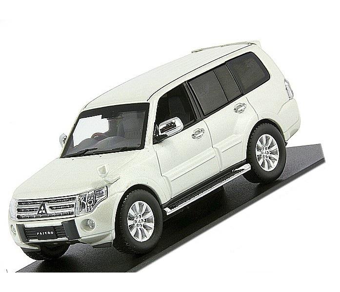Коллекционная модель Mitsubishi Pajero