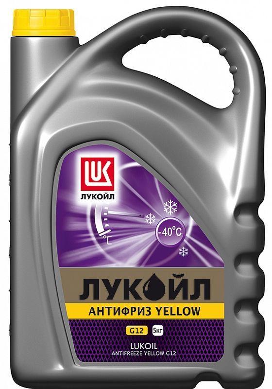 Лукойл G12 Yellow - Антифриз готовый  (желтого цвета)