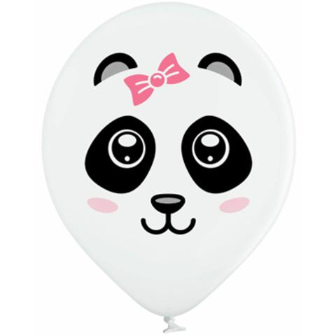 Воздушный шар с рисунком Панды - Девочки