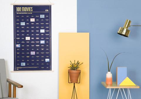 Постер «100 фильмов, которые нужно посмотреть прежде чем умереть»