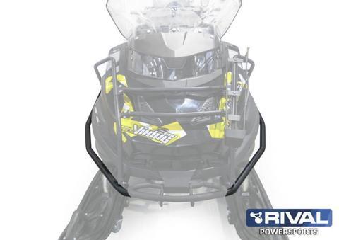 Бампер передний для снегохода STELS Росомаха S800 / Viking 600 (адаптированый под откидное крепление для ружья) 2014-, Сталь