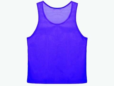 Манишка сетчатая. Цвет: синий. Размер L.