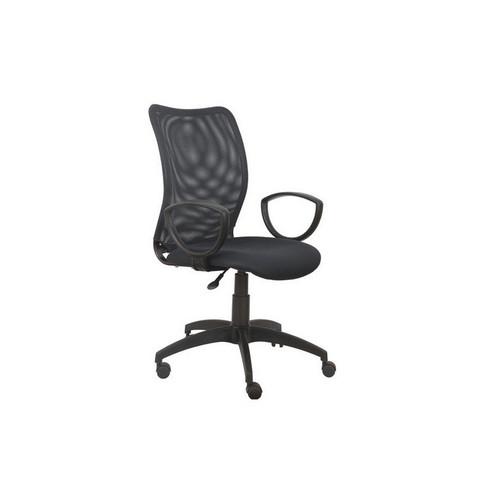 Кресло офисное Бюрократ CH 599 черное (ткань/сетка/пластик)
