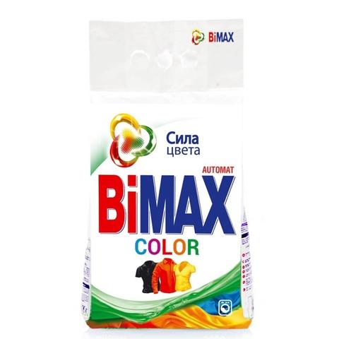 Стиральный порошок BiMAX Color автомат 3 кг м/у Нефис РОССИЯ