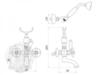 Смеситель для ванной Migliore Princeton Plus ML.PRP-8002 схема