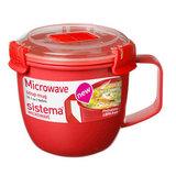 Кружка суповая Microwave 565 мл, артикул 1142, производитель - Sistema
