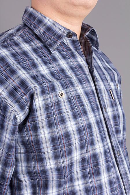 Лекала мужской рубашки с карманами