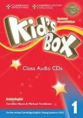Kid's Box Updated edition 1 Class Audio CDs (4)