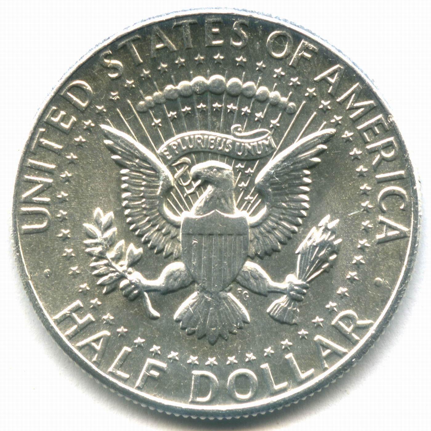 1/2 доллара США 1964 год XF-AU (Кеннеди)