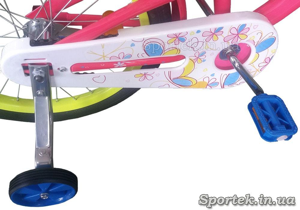 Защита цепи и боковые колесики велосипеда Formula Alicia