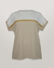 Блузка Elite 4551 однотон к/р