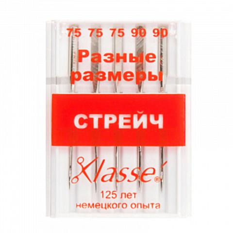 ИГЛЫ ДЛЯ БЫТОВЫХ ШВЕЙНЫХ МАШИН СТРЕЙЧ-A6120/MIX-KLASSE