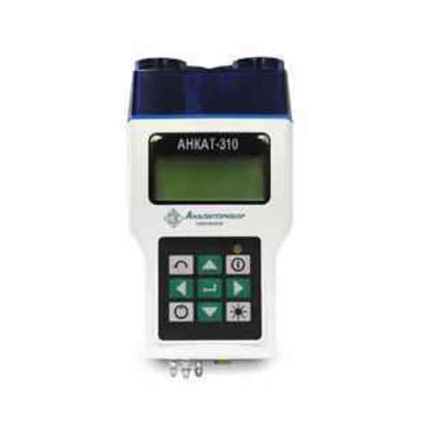 Переносной газоанализатор измерения параметров отходящих газов АНКАТ-310-01 (кислород (O2), угарный газ (CO))