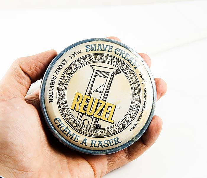 CARE122 Классический крем для бритья Reuzel Shave Cream (95 гр) фото 04