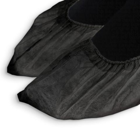 Носки EleGreen одноразовые из спанбонд (инд упак) черные (50 пар)