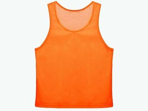 Манишка сетчатая. Цвет: оранжевый. Размер L.