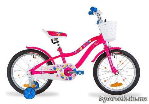 Велосипед Formula Alicia для девочек ростом от 105 до 120 см (колеса 18 дюймов)