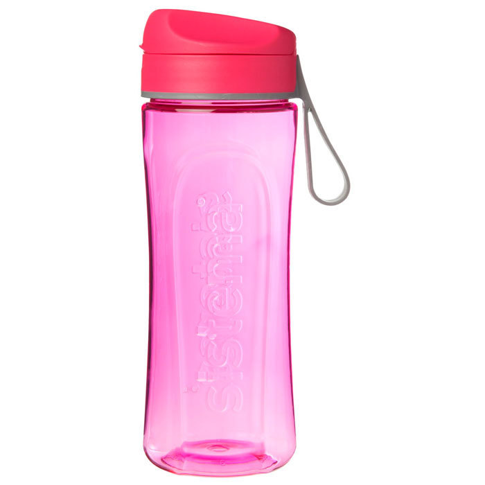 """Бутылка для воды Sistema """"Hydrate"""", Тритан, 600 мл, цвет Розовый"""