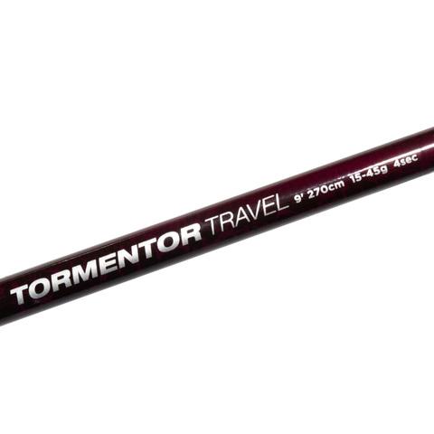 Удилище спиннинговое тревел 4х коленное Abu Garcia Tormentor Travel Spin 9ft (274 см., 15-45 г.) (1520992)