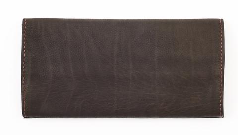Кожаный тройной кисет для табака Zippo, коричневый