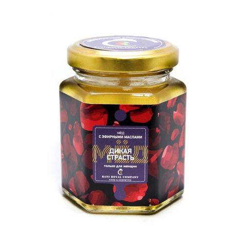 Мёд с эфирными маслами «Дикая страсть» 240 г