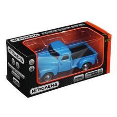 ИГРОЛЕНД Машинка в виде Ретро автомобиля, инерция, металл, ABS, 5 дизайнов.