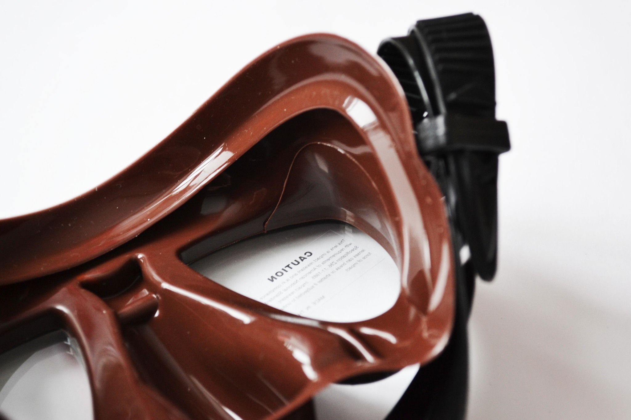 Маска Mares Tana (коричневый силикон)
