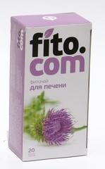 Фиточай, Фитоком Алтай, серии Fito.com, для печени, ф/п, 2 г, 20 шт