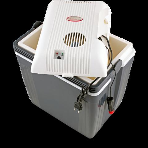 Термоэлектрический автохолодильник Ezetil E 27 S Turbofridge (12V/220V, 27л)