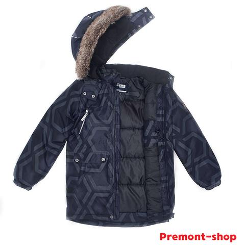 Парка Premont Зима Вулкан Миджер WP92474 GREY