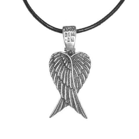Angel Wings Pendant, Sterling Silver