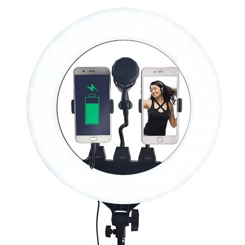Светодиодная кольцевая лампа 36 см. Ring Fill Light ZB-R14 + ШТАТИВ