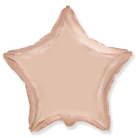 Звезда Розовое золото, 45 см