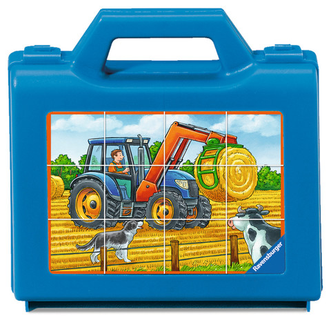 Puzzle -Vehicles on the Farm      12p