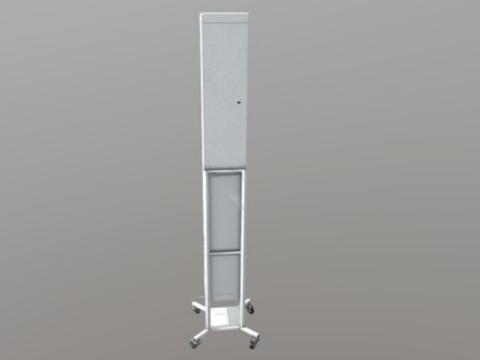 Облучатель-рециркулятор бактерицидный  «СИБЭСТ-50КС» с передвижной платформой «П № 1»