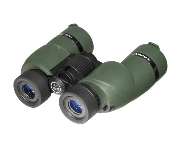 Бинокль Sturman 10x36 зелёный - фото 2